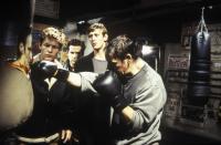AUF HERZ UND NIEREN, from left: Steffen Wink, Niels-Bruno Schmidt, Martin Glade, Thierry Van Werweke, 2001. ©Warner Bros