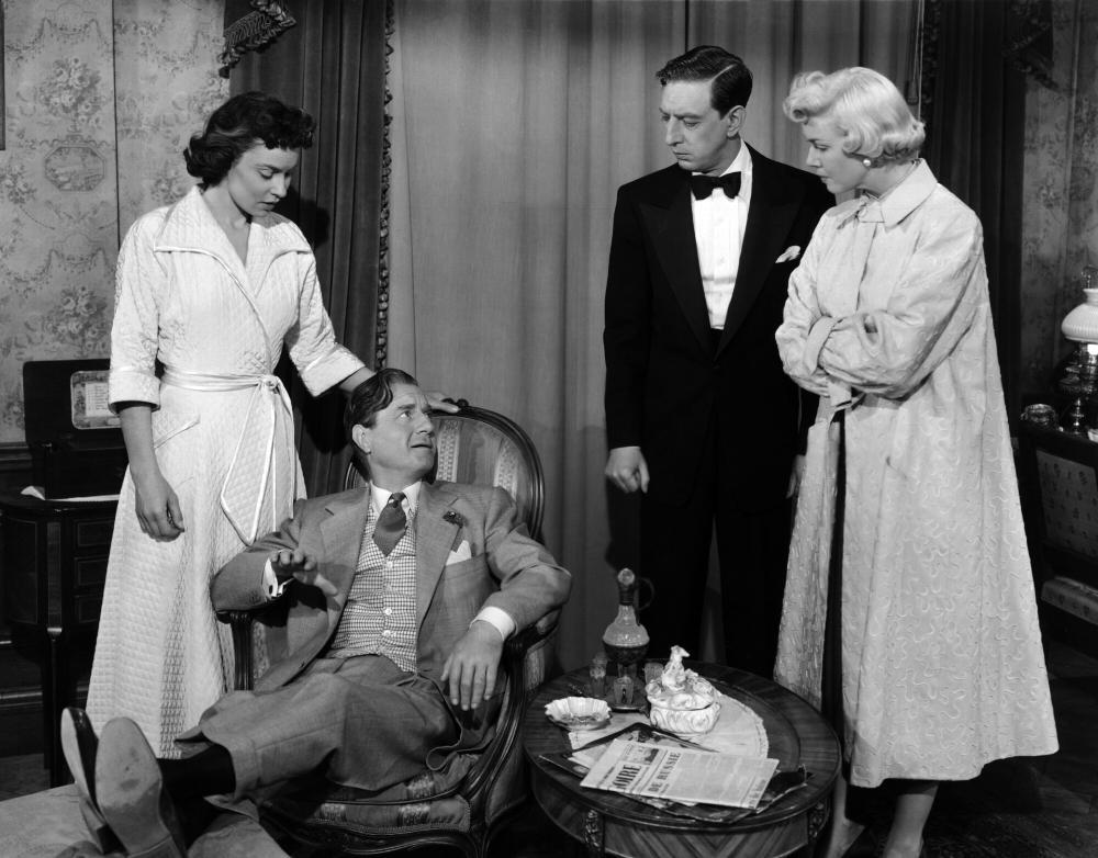 APRIL IN PARIS, Eve Miller, Claude Dauphin, Ray Bolger, Doris Day, 1952