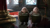 ALICE IN WONDERLAND, Matt Lucas as Tweedledee and Tweedledum, 2010. ©Walt Disney Pictures