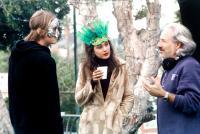 ADAM AND EVE, Cameron Douglas, Emmanuelle Chriqui, director Jeff Kanew on set, 2005, (c) New Line