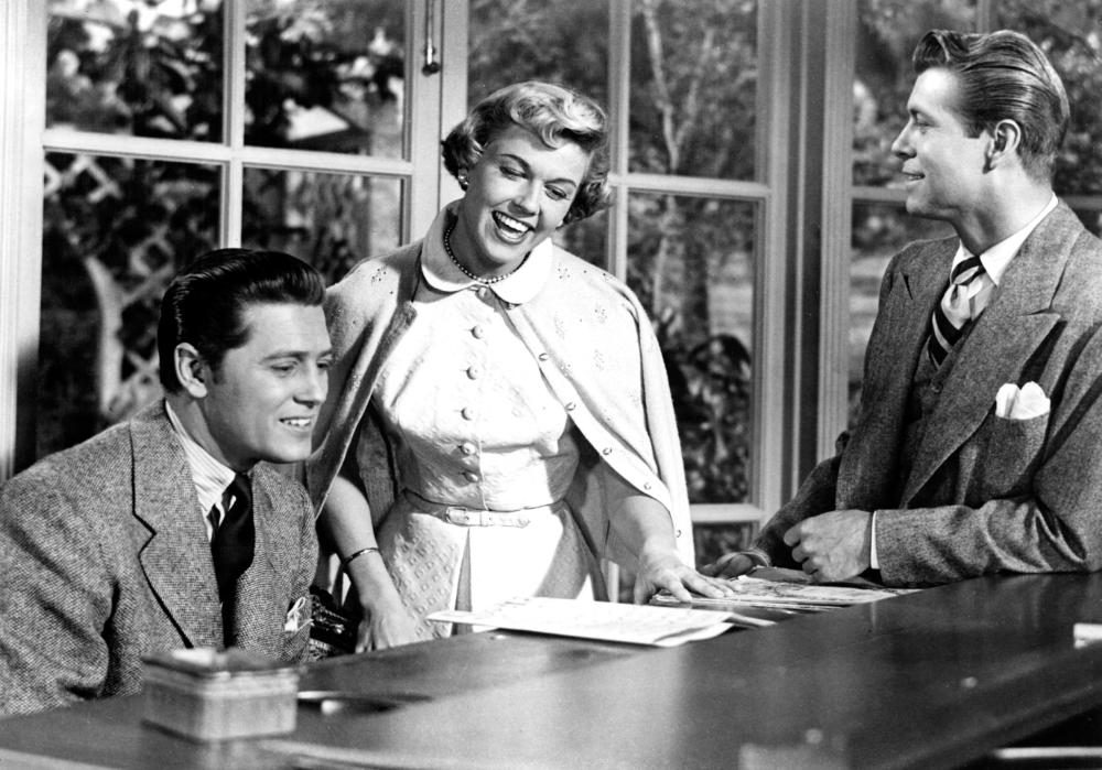 TEA FOR TWO, Gordon MacRae, Doris Day, Gene Nelson, 1950