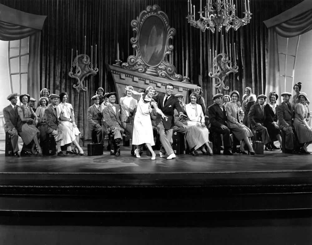 TEA FOR TWO, Doris Day, Gene Nelson, 1950