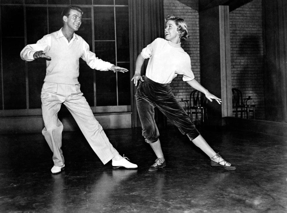 TEA FOR TWO, Gene Nelson, Doris Day, 1950