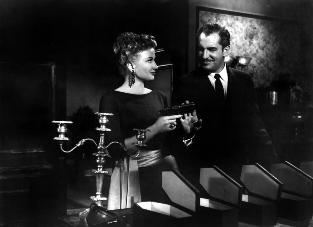 HOUSE ON HAUNTED HILL, Carol Ohmart, Vincent Price, 1959