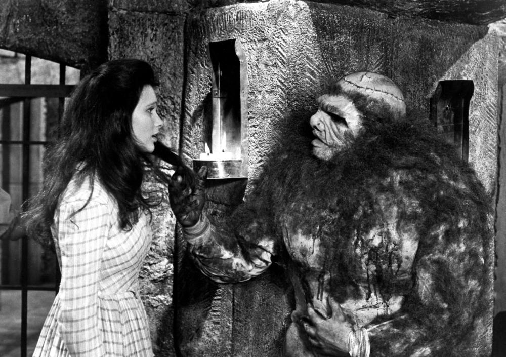 FRANKENSTEIN AND THE MONSTER FROM HELL, Madeline Smith, Dave Prowse, 1974