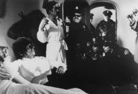 DR. HECKYL AND MR. HYPE, Sunny Johnson, Oliver Reed (holding bottle), Jackie Coogan, 1980, (c) Cannon Films