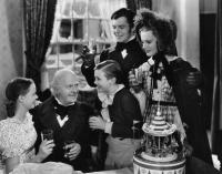 A CHRISTMAS CAROL, June Lockhart, Reginald Owen, Terry Kilburn, Barry MacKay, Lynne Carver, 1938