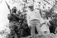 BABY: SECRET OF THE LOST LEGEND, Olu Jacobs, Patrick McGoohan, Julian Fellows, 1985. (c) Buena Vista Pictures