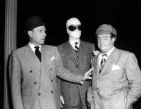 ABBOTT AND COSTELLO MEET THE INVISIBLE MAN, Bud Abbott, Arthur Franz, Lou Costello, 1951