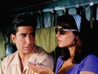 SIX DAYS SEVEN NIGHTS, from left, David Schwimmer, Jacqueline Obradors, 1998, ©Buena Vista Pictures