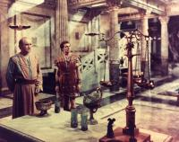 THE ROBE, from left: Torin Thatcher, Richard Burton, 1953. TM and Copyright © 20th Century Fox Film Corp. All rights reserved.