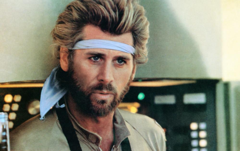 MEGAFORCE, Barry Bostwick, 1982, TM & Copyright © 20th Century Fox Film Corp