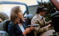 THE MAN WITH BOGART'S FACE, Michelle Phillips (front), Robert Sacchi, 1980, TM & Copyright © 20th Century Fox Film Corp