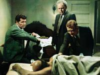 MARLOWE, from left: James Garner, Carroll O'Connor, Kenneth Tobey, Jackie Coogan (lying down), 1969