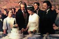 THE LONG RIDERS, front from left: Amy Stryker, James keach as Jesse James, Savannah Smith, Stacy Keach as Frank James, Fran Ryan, 1980, © United Artists