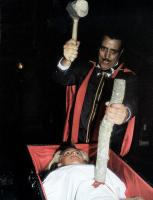 THE LAST HORROR FILM, (aka FANATIC), top to bottom: Joe Spinell, Caroline Munro, 1985. ©Warner Brothers