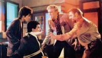 INNOCENT BLOOD, from left: Anne Parillaud, Luis Guzman, Marshall Bell, Kim Coates, 1992, © Warner Brothers