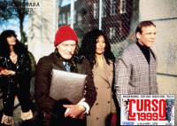 CLASS OF 1999, (aka CURSO 1999), front from left: John P. Ryan, Pam Grier, Patrick Kilpatrick, 1990, © Taurus Entertainment