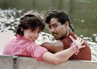 BREAKIN' 2: ELECTRIC BOOGALOO, from left: Lucinda Dickey, Adolfo Quinones , 1984. ©TriStar Pictures