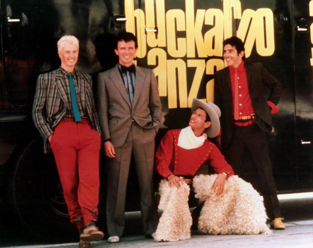 ADVENTURES OF BUCKAROO BANZAI ACROSS THE 8TH DIMENSION, THE, Lewis Smith, Peter Weller, Jeff Goldblum, Pepe Serna, 1984