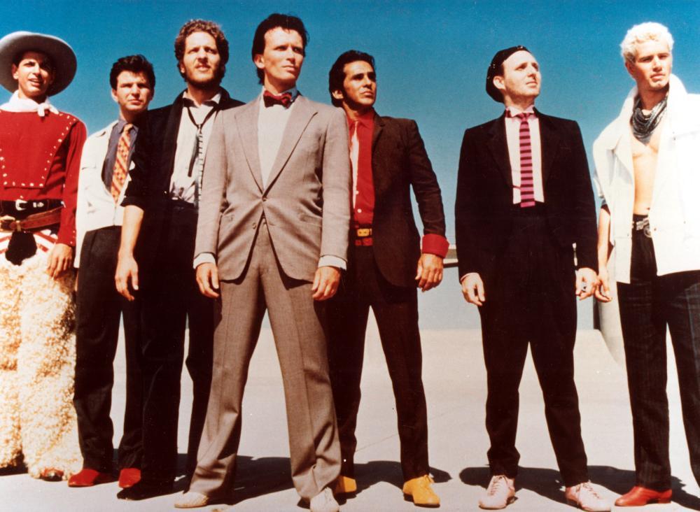 ADVENTURES OF BUCKAROO BANZAI ACROSS THE 8TH DIMENSION, THE, Jeff Goldblum, Michael Santoro, Clancy Brown, Peter Weller, Pepe Serna, Billy Vera, Lewis Smith, 1984