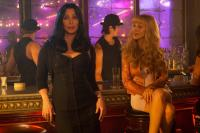 BURLESQUE, from left: Cher, Christina Aguilera, 2010. ph: Stephen Vaughan/©Screen Gems