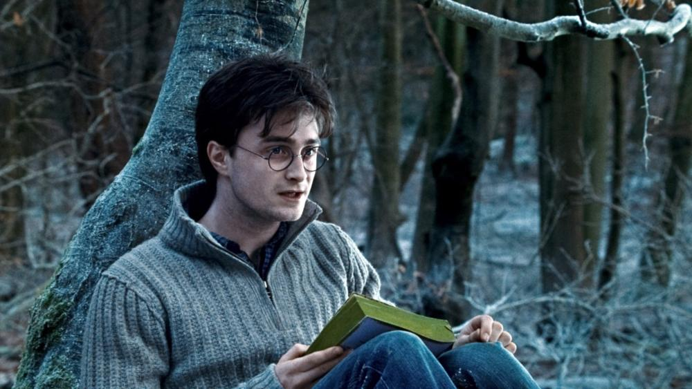 HARRY POTTER AND THE DEATHLY HALLOWS: PART 1, Daniel Radcliffe, 2010. ©2010 Warner Bros. Ent. Harry Potter publishing rights ©J.K.R. Harry Potter characters, names and related indicia are trademarks of and ©Warner Bros. Ent. All rights reserved.