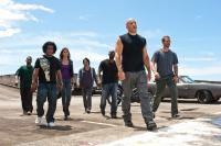 FAST FIVE, starting third from left: Gal Gadot, Sung Kang, Ludacris, Vin Diesel, Paul Walker, 2011, ©Universal Pictures