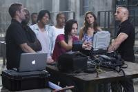 FAST FIVE, l-r: Paul Walker, Tyrese Gibson, Sung Kang, Ludacris, Jordana Brewster, Gal Gadot, Vin Diesel, 2011, ph: