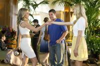 JUST GO WITH IT, from left: Jennifer Aniston, Adam Sandler, Brooklyn Decker, 2011. ©Columbia Pictures