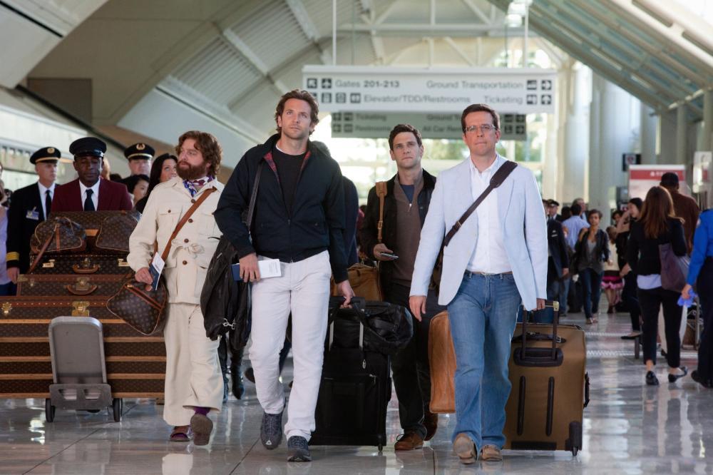 THE HANGOVER PART II, from left: Zach Galifianakis, Bradley Cooper, Justin Bartha, Ed Helms, 2011. Ph: Melinda Sue Gordon/©Warner Bros.