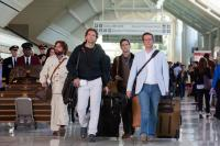 THE HANGOVER PART II, from left: Zach Galifianakis, Bradley Cooper, Justin Bartha, Ed Helms, 2011. Ph: Melinda Sue Gordon/©Warner Bros.