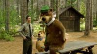 YOGI BEAR, from left: Tom Cavanagh, Boo-Boo Bear (voice: Justin Timberlake), Yogi Bear (voice: Dan Aykroyd), 2010. ©Warner Brothers