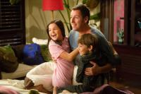 JUST GO WITH IT, from left: Bailee Madison, Adam Sandler, Griffin Gluck, 2011. ©Columbia Pictures