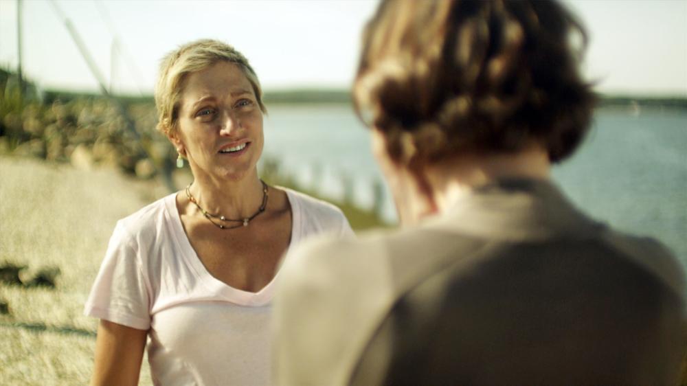 3 BACKYARDS, (aka THREE BACKYARDS), from left: Edie Falco, Embeth Davidtz, 2010. ©Screen Media Films