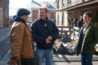 WHITE IRISH DRINKERS, from left: Stephen Lang, director John Gray, Nick Thurston, on set, 2010, ph: Brian Everett Francis