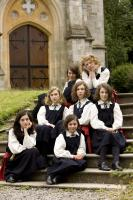 CRACKS, Imogen Poots (middle row, left), Juno Temple (middle row, center), 2009. ©IFC Films