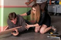 NO STRINGS ATTACHED, from left: Ashton Kutcher, Lake Bell, 2011. ph: Dale Robinette/©Paramount Pictures