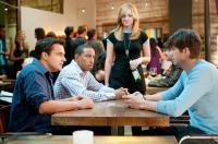 NO STRINGS ATTACHED, from left: Jake M. Johnson, Ludacris, Abby Elliott, Ashton Kutcher, 2011. ph: Dale Robinette/©Paramount Pictures