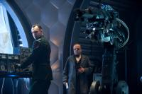 CAPTAIN AMERICA: THE FIRST AVENGER, l-r: Hugo Weaving, Toby Jones, 2011, ph: Jay Maidment/©Paramount Pictures