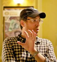 FLYPAPER, director Rob Minkoff, on set, 2011.