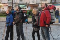 THE WAY, from left: Martin Sheen, James Nesbitt, Deborah Kara Unger, Yorick van Wageningen, 2010. ©Icon Entertainment International