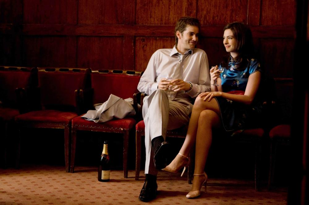 ONE DAY, from left: Jim Sturgess, Anne Hathaway, 2011. ph: Giles Keyte/©Focus Features