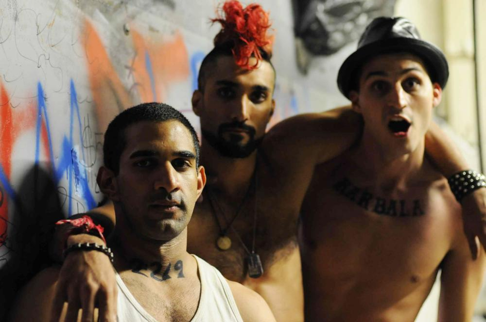 THE TAQWACORES, from left: Nav Mann, Dominic Rains, Volkan Eryaman, 2010. ©Strand Releasing