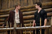 RED RIDING HOOD, from left: Max Irons, Shiloh Fernandez, 2011. ph: Kimberly French/©Warner Bros.