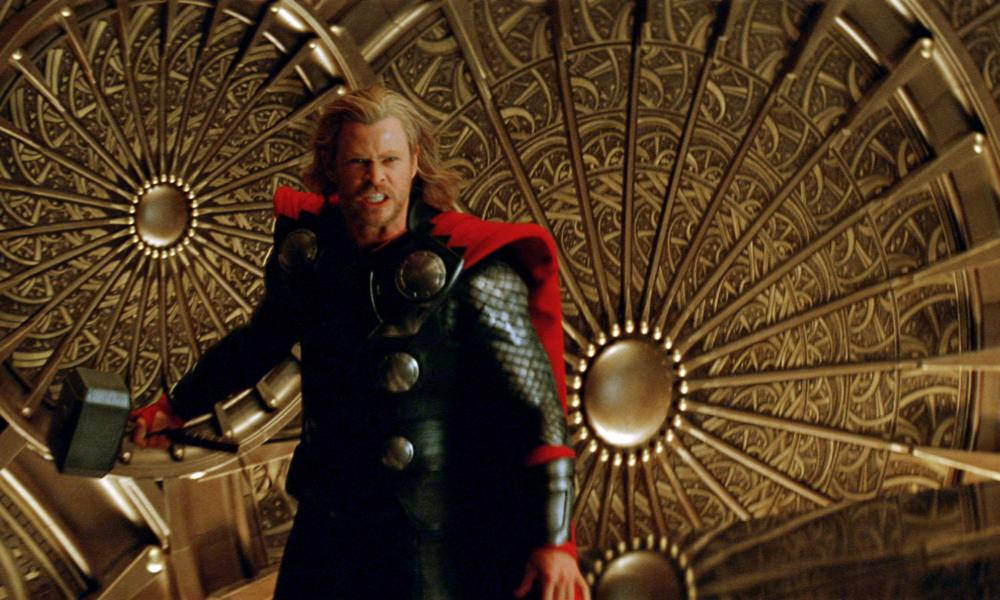 THOR, Chris Hemsworth, as Thor, 2011. ©Paramount Pictures
