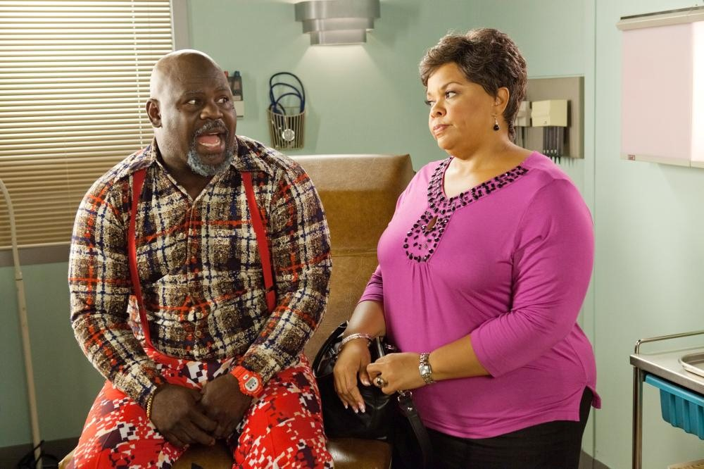 MADEAS BIG HAPPY FAMILY, l-r: David A. Mann, Tamela Mann, 2011, ph: Quantrell Colbert/©Lionsgate