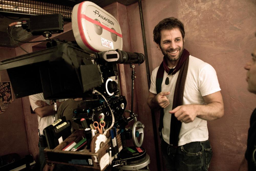 SUCKER PUNCH, director Zack Snyder, on set, 2011. ph: Clay Enos/©Warner Bros. Pictures