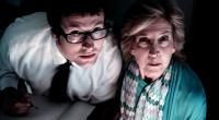 INSIDIOUS, from left: Leigh Whannell, Lin Shaye, 2010. ph: John Darko/©FilmDistrict