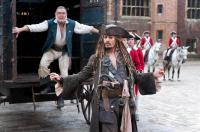 PIRATES OF THE CARIBBEAN: ON STRANGER TIDES, from left: Kevin McNally, Johnny Depp, 2011, ph: Peter Mountain/©Walt Disney Pictures